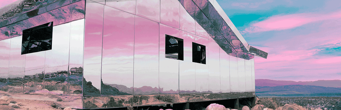 Mirage by Doug Aitken at Desert X - Palm Springs, Califorinia